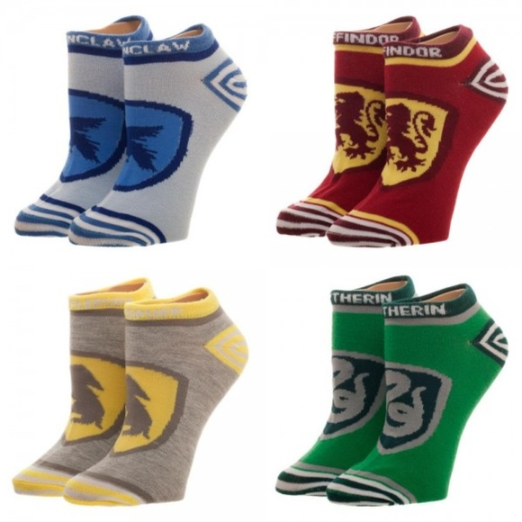 LICENSED HARRY POTTER HOUSE COSPLAY KNEE SOCKS FOR WOMAN CHOOSE FROM 5 STYLES